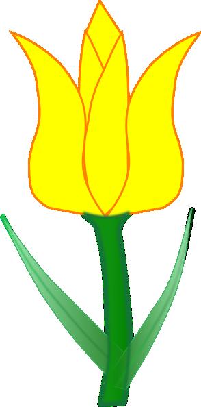 294x594 Tulip Clip Art