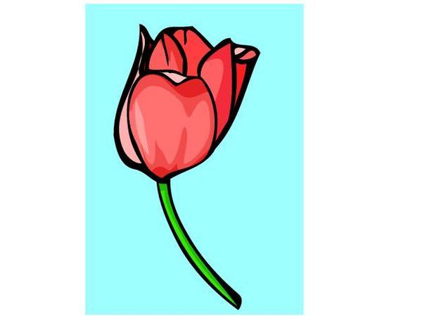 600x449 Flower Clip Art