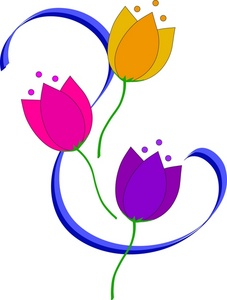 227x300 Tulips Clipart Image
