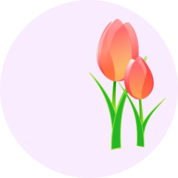 600x600 Tulips Free Vector In Open Office Drawing Svg ( Svg ) Vector