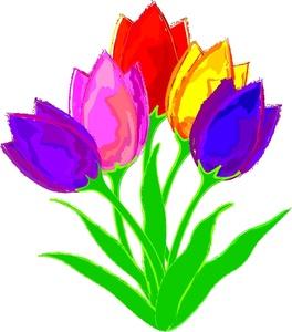 264x300 Tulip Flower Clip Art Tulip Flower Clipart