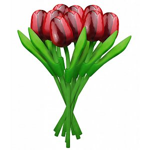 300x300 Typical Dutch Souvenirs Wooden Tulips Order