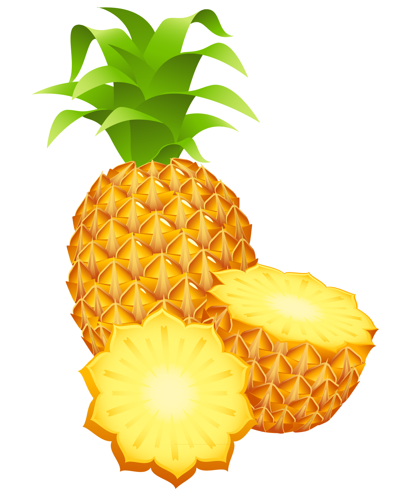 1292x1583 Large Painted Pineapple Png Clipartu200b Gallery Yopriceville