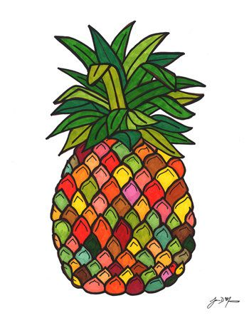 350x446 Pineapple Clipart Welcome