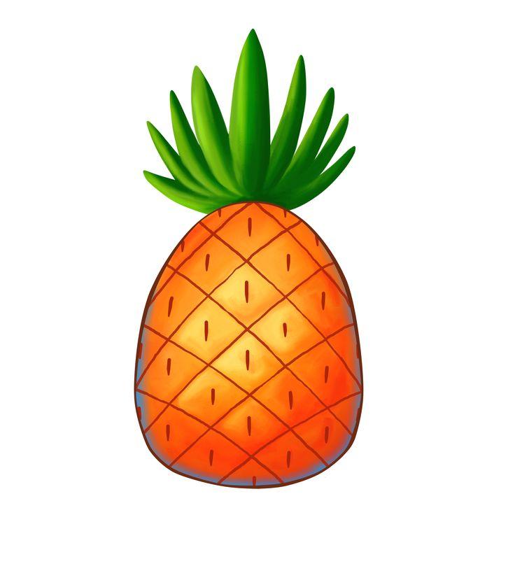 736x839 Spongebob Pineapple Clipart