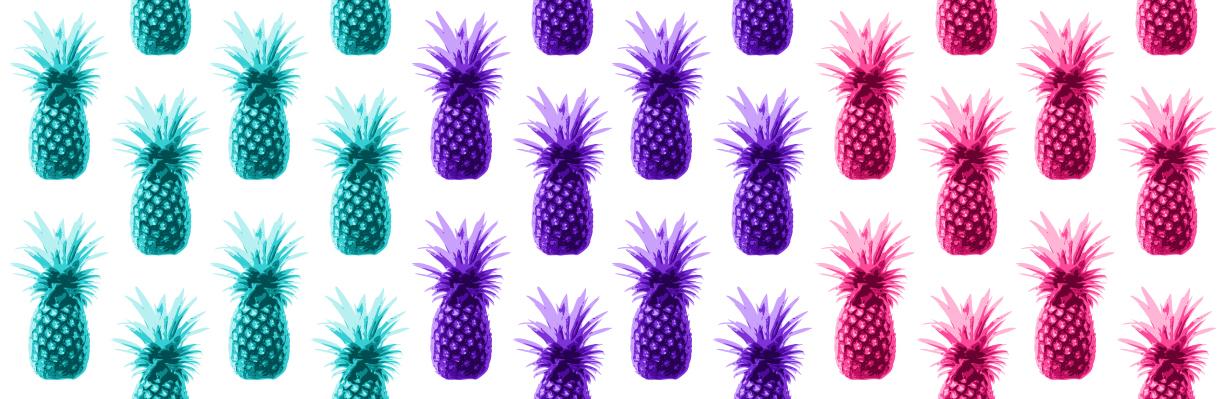 1232x399 Tumblr Pineapple Background Clipart Panda