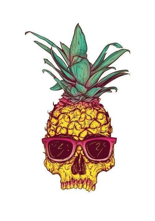 500x713 Rad Pineapples Tumblr