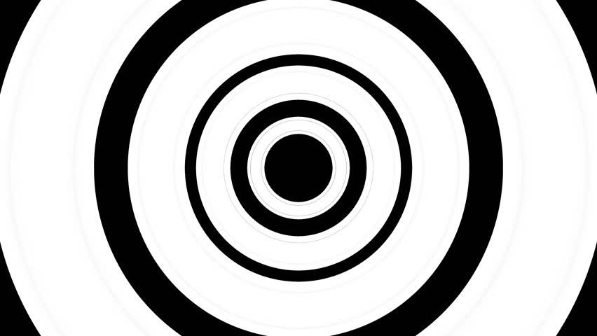 852x480 Vj Infinite Looped Circle Striped Tunnel Video. Endless Circle