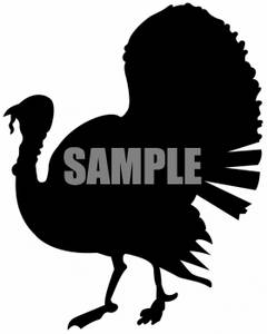 240x300 Clipart Of A Turkey