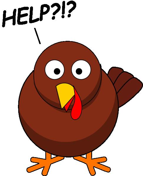 486x599 Free Animated Turkey Clipart