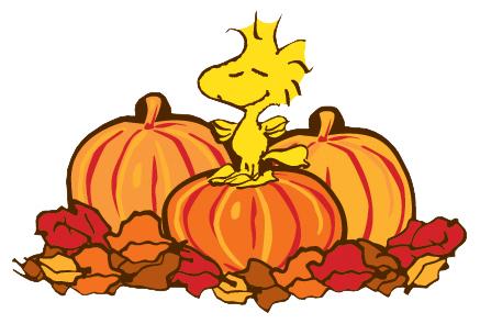 437x295 Turkey And Pumpkin Clipart