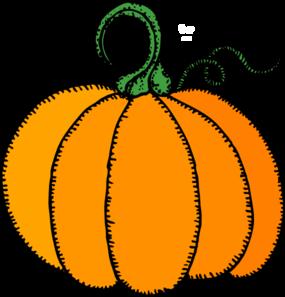 285x297 Turkey And Pumpkin Clipart