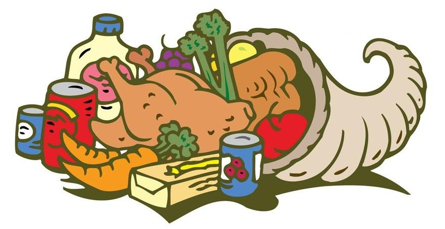 882x455 Clipart For Food Drive