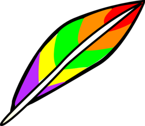 298x258 Feather Clip Art