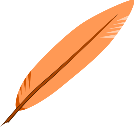 268x256 Feather Clipart