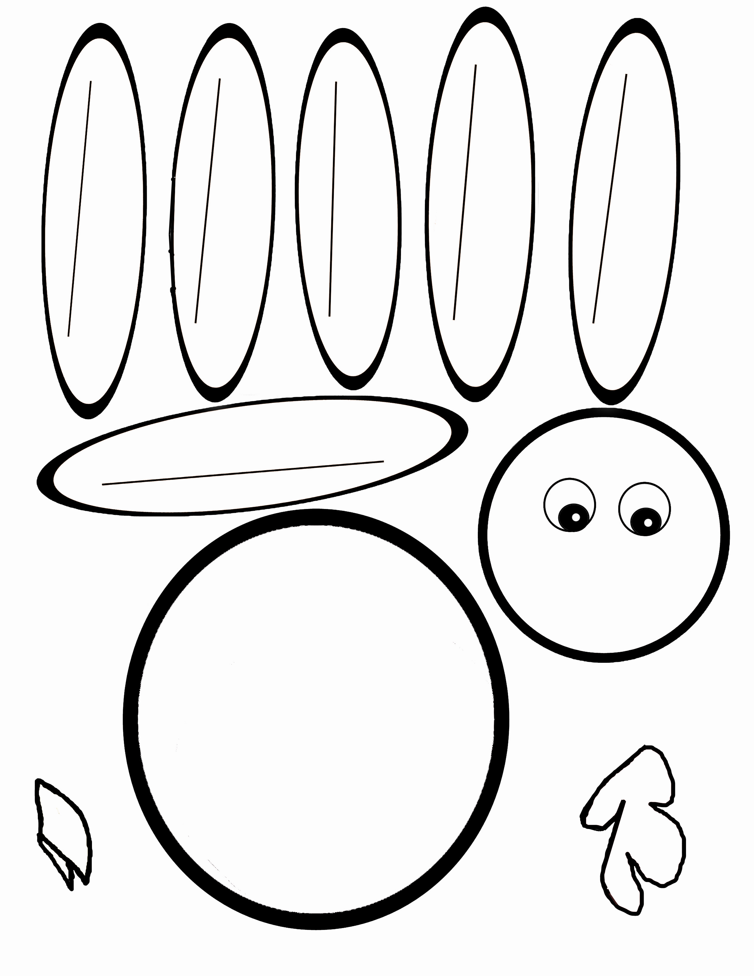 2550x3300 Feather Coloring Sheet