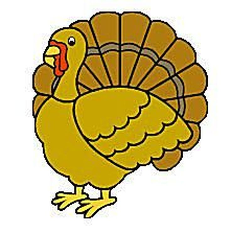 735x742 Free Turkey Clipart Images
