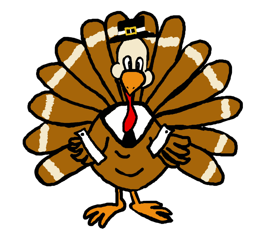 1000x979 November Turkey Clip Art