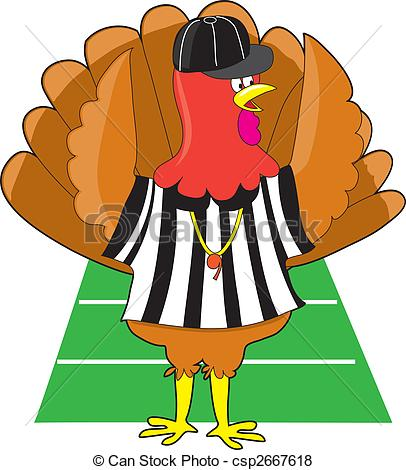 406x470 Turkey Football Clipart