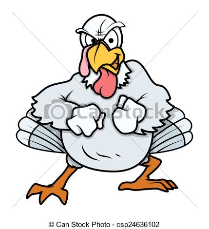 429x470 Turkey Clipart Angry