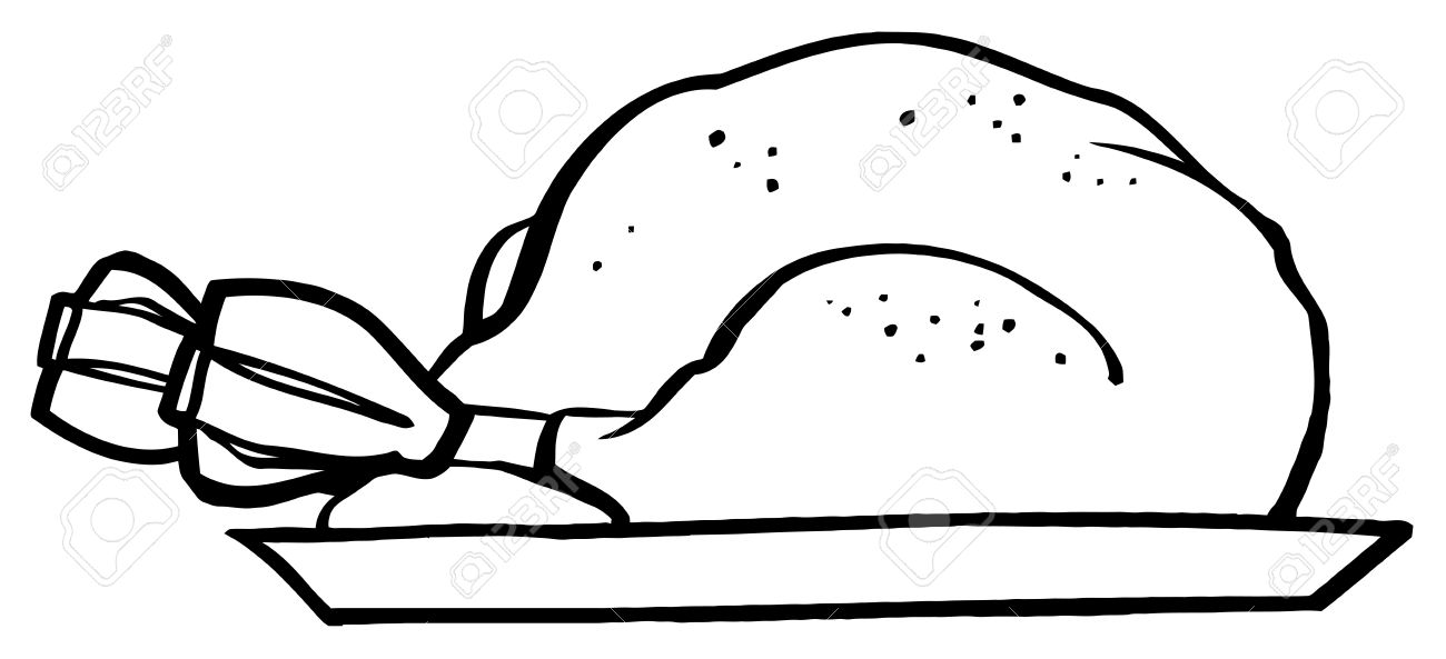1300x593 Graphics For Roasted Turkey And Black White Graphics Www