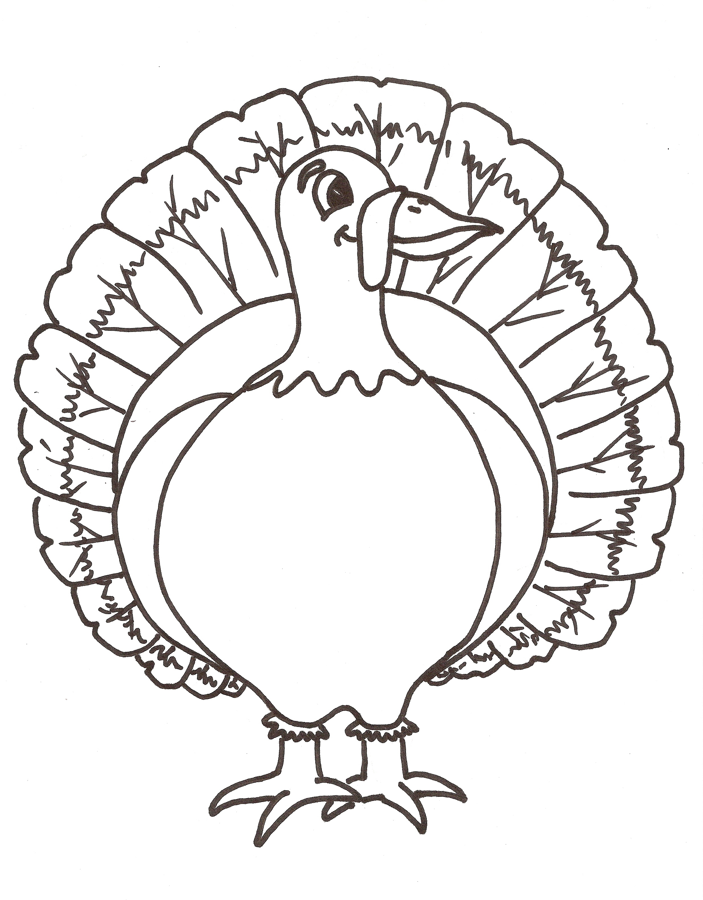 Turkey Outline Free Download Best Turkey Outline On Clipartmag