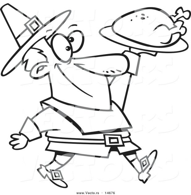 618x630 Awesome Turkey Cartoon Coloring Pages Outline Clipart Free