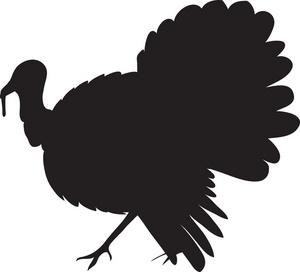 300x272 Turkey Clipart Image