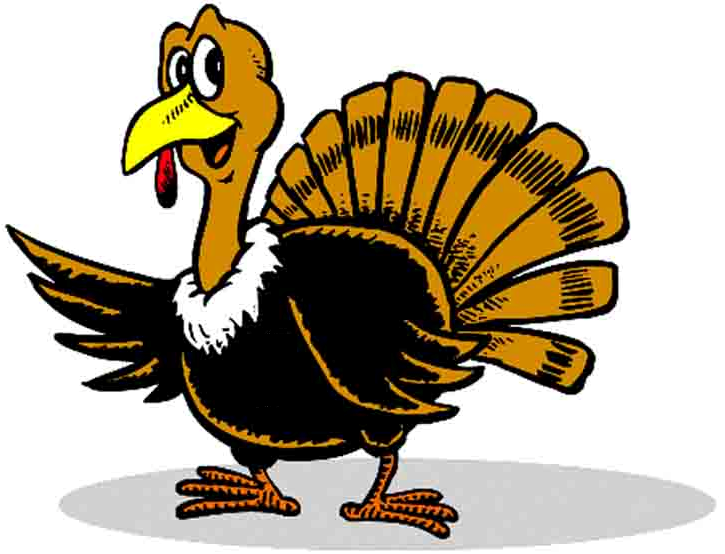 Turkey Trot Clipart