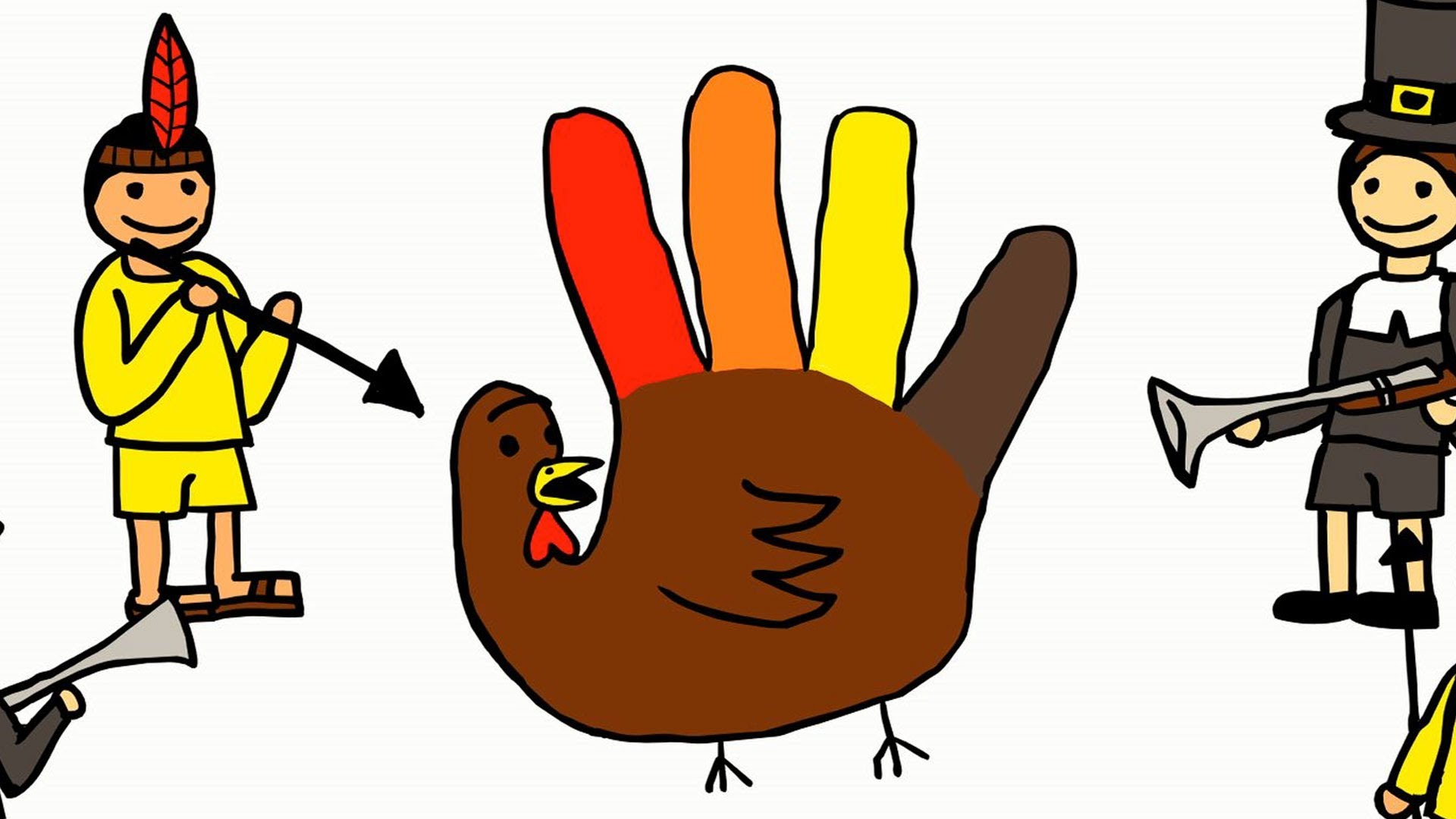 1920x1080 Hand Turkey Tragedy (A Coloring For Grown Ups Special Report