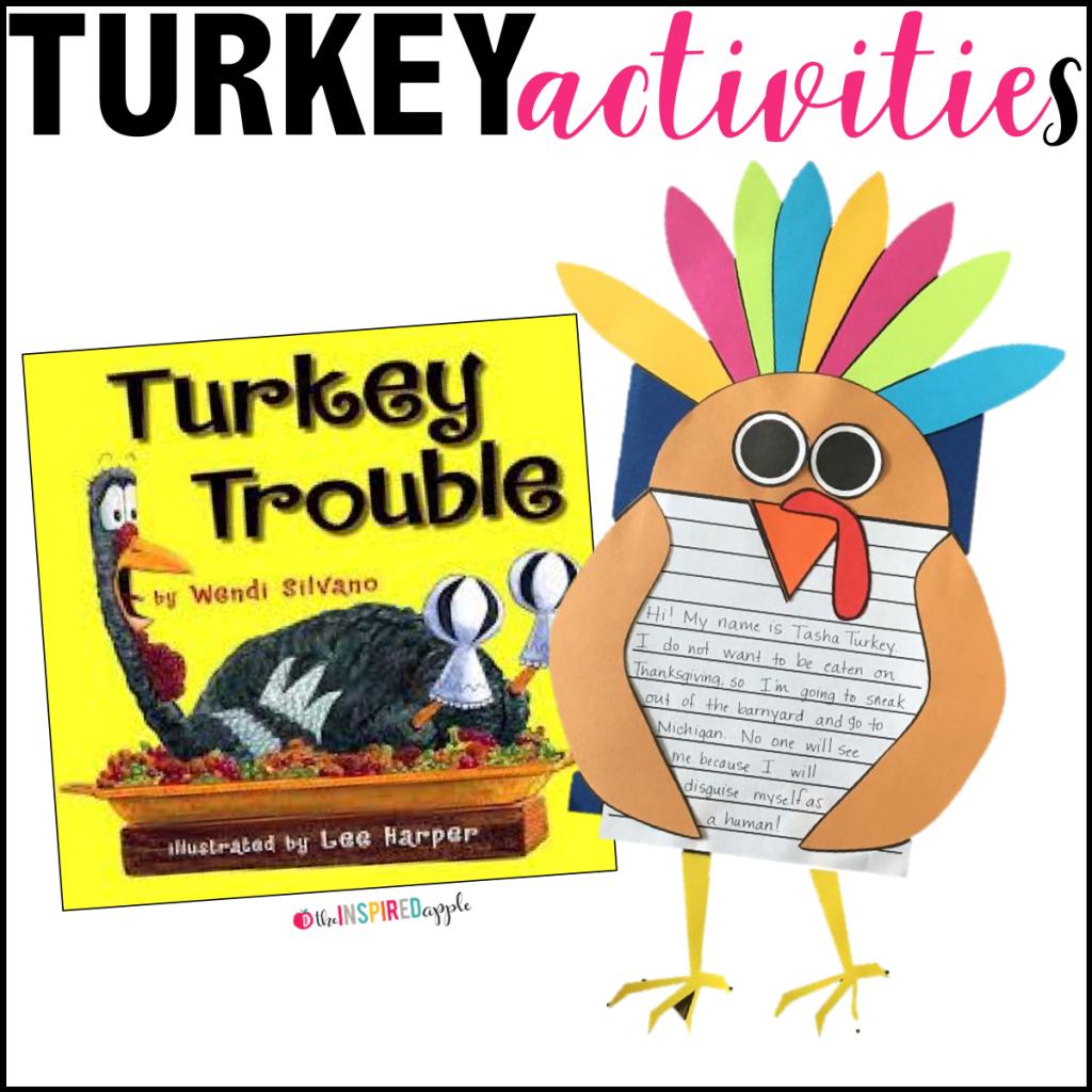 1024x1024 Turkey Activities For Kindergarten, First Grade, And Second Grade