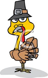 187x300 Turkey Working Out Clipart