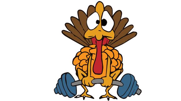 580x324 Turkey Exercising Clipart