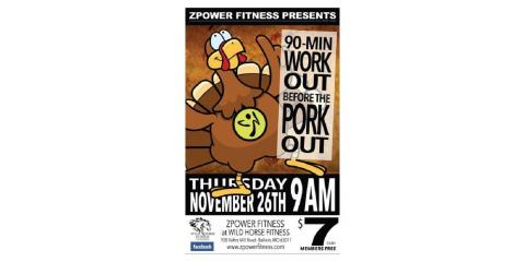 480x240 Wild Horse Fitness Thanksgiving Day 90 Minute Work Out Before