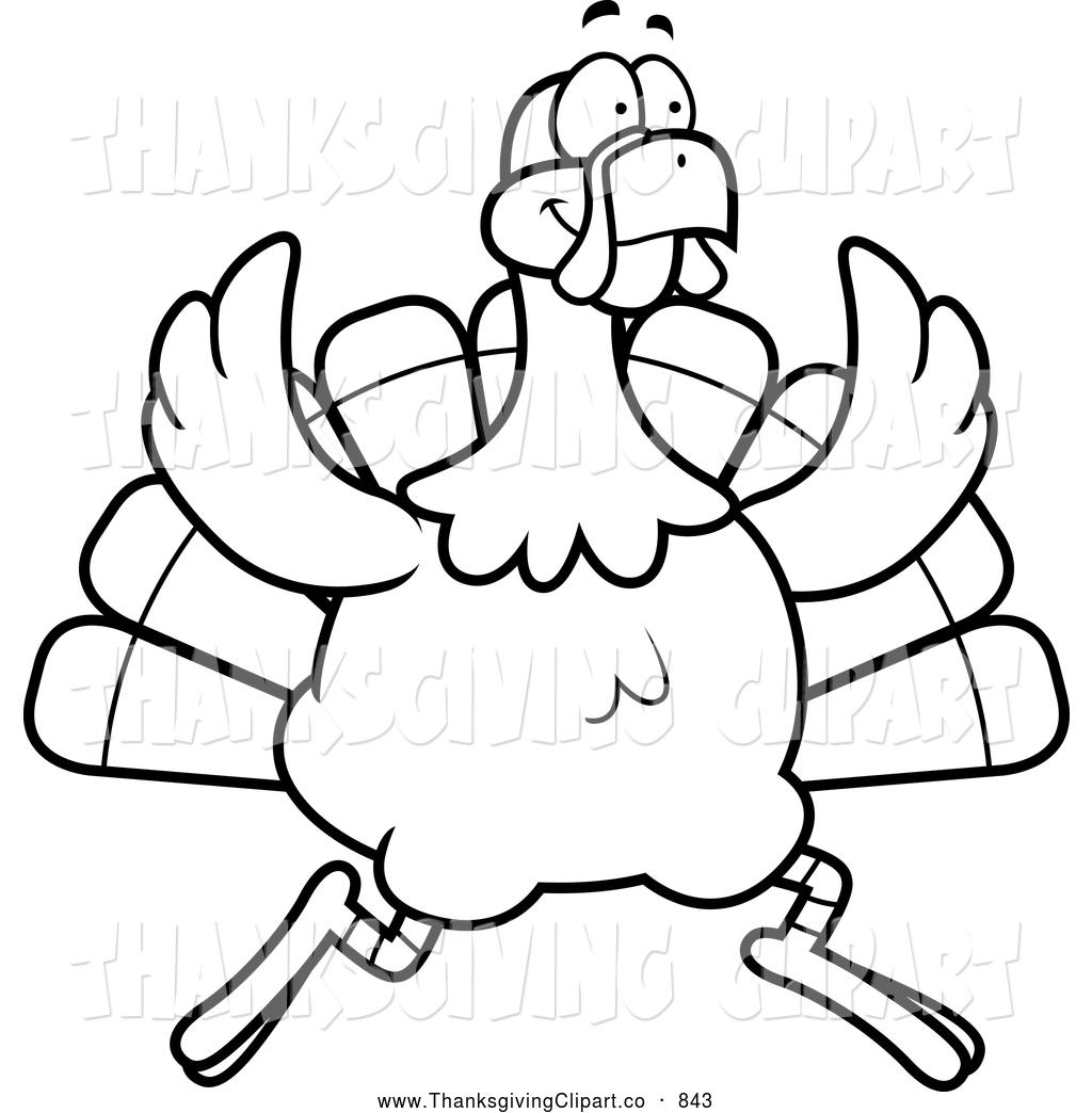 1024x1044 Running Turkey Clipart Black And White Clipart Panda