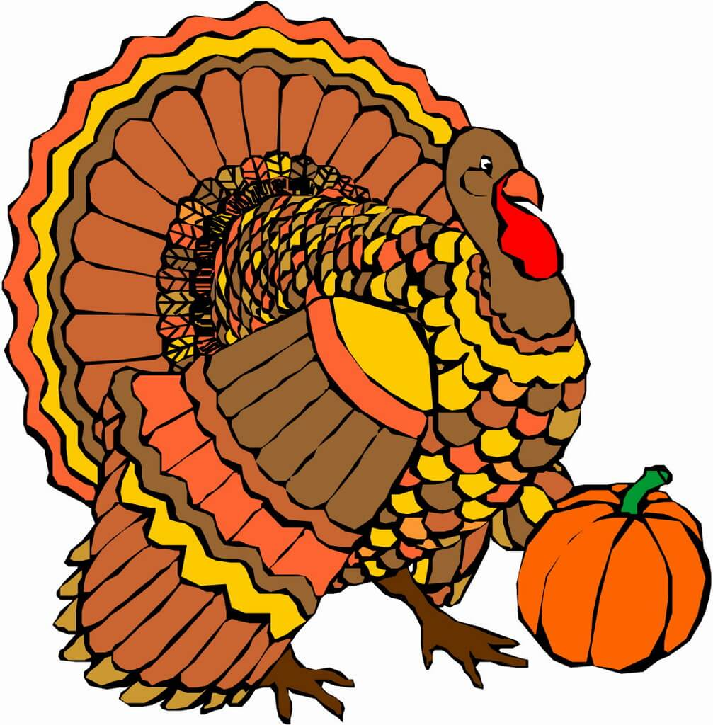 1007x1024 Thanksgiving ~ Happy Thanksgiving Turkey Pictures Clipart Images