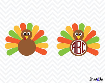 340x270 Turkey Svg Turkey Dxf Turkey Cut File Thanksgiving Turkey