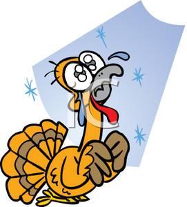 271x300 Art Image A Pleading Cartoon Turkey