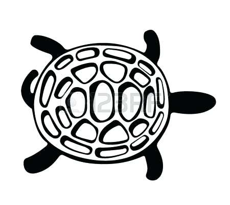 450x400 Turtle Clipart Swamp Turtle Sea Turtle Clip Art Outline Memocards.co