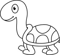 195x177 Turtle Clipart Animal Outline