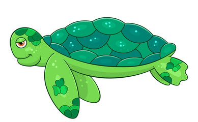 389x240 Cartoon Sea Turtle Search Photos Category Animals Reptiles