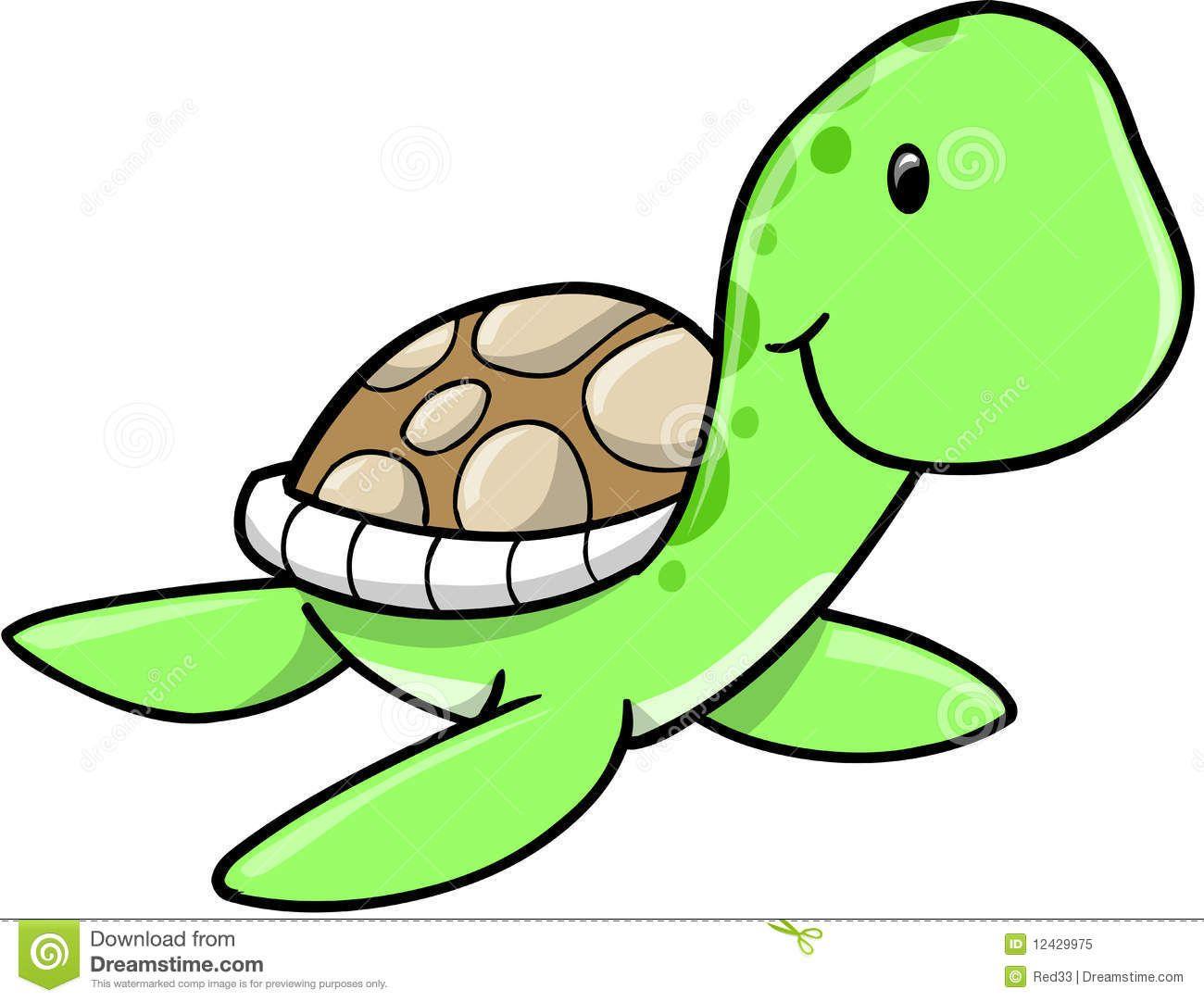 1300x1082 Cute Sea Turtle Drawing