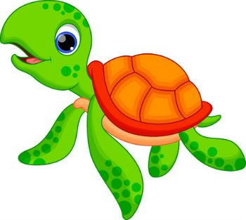 350x313 Sea Turtle Clipart Kid