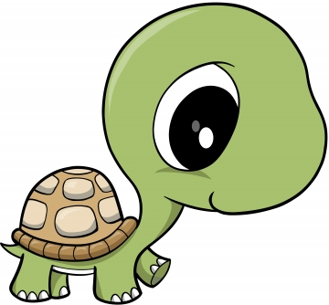 360x334 Turtle Clip Art Free Cartoon 3