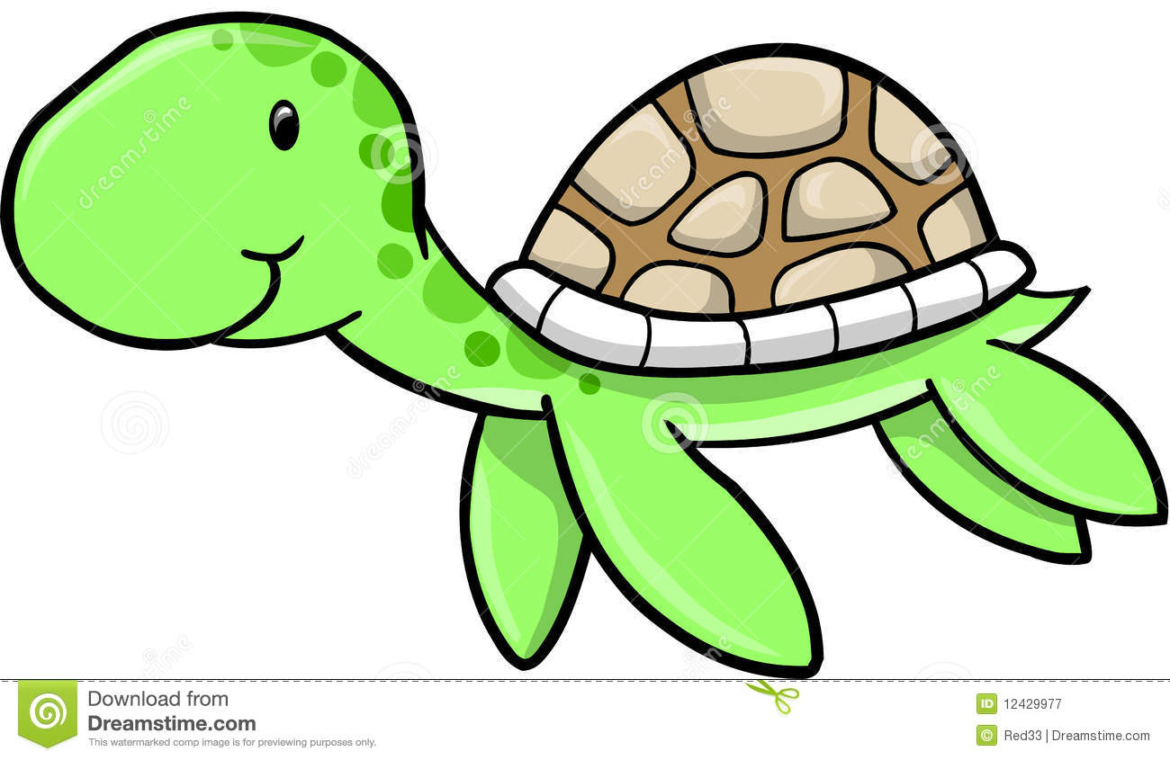 1300x845 Cute Girl Turtle Clipart