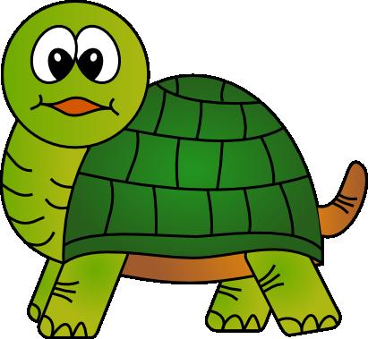 411x379 Cute turtle clip art free clipart images