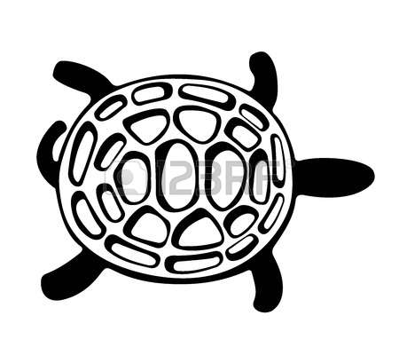 450x400 Sea Turtle Clipart Abstract