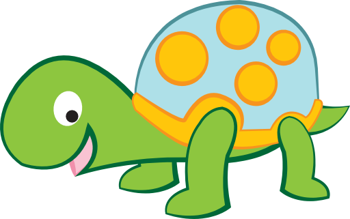 512x321 Cute Turtle Clip Art Free Clipart Images 3 Clipartix