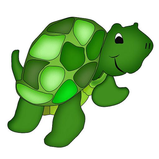 512x512 Hawaiian Sea Turtle Clipart Free Images 3