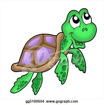 350x352 Sea Turtle Clipart